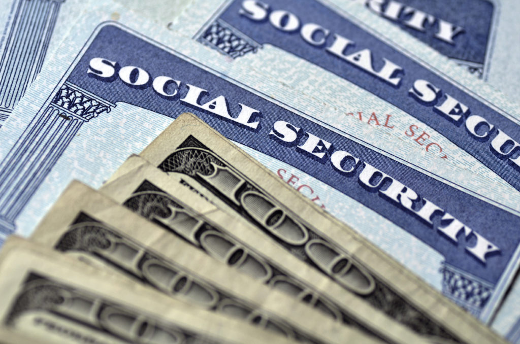 Social Security Cards and cash used in IRS Scam