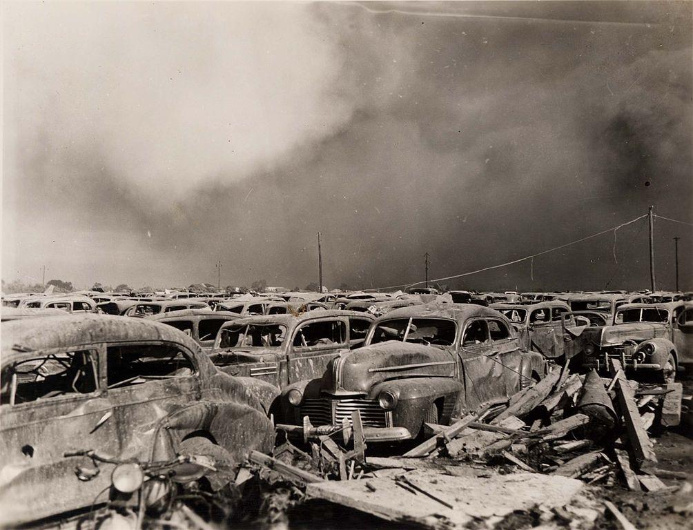 Texas City Explosion Parking Lot
