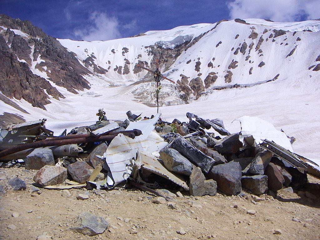 1972 Andes plane crash site