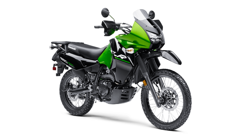 the Kawasaki KLR650 is a great survival bike