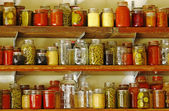 Food Storage with jars