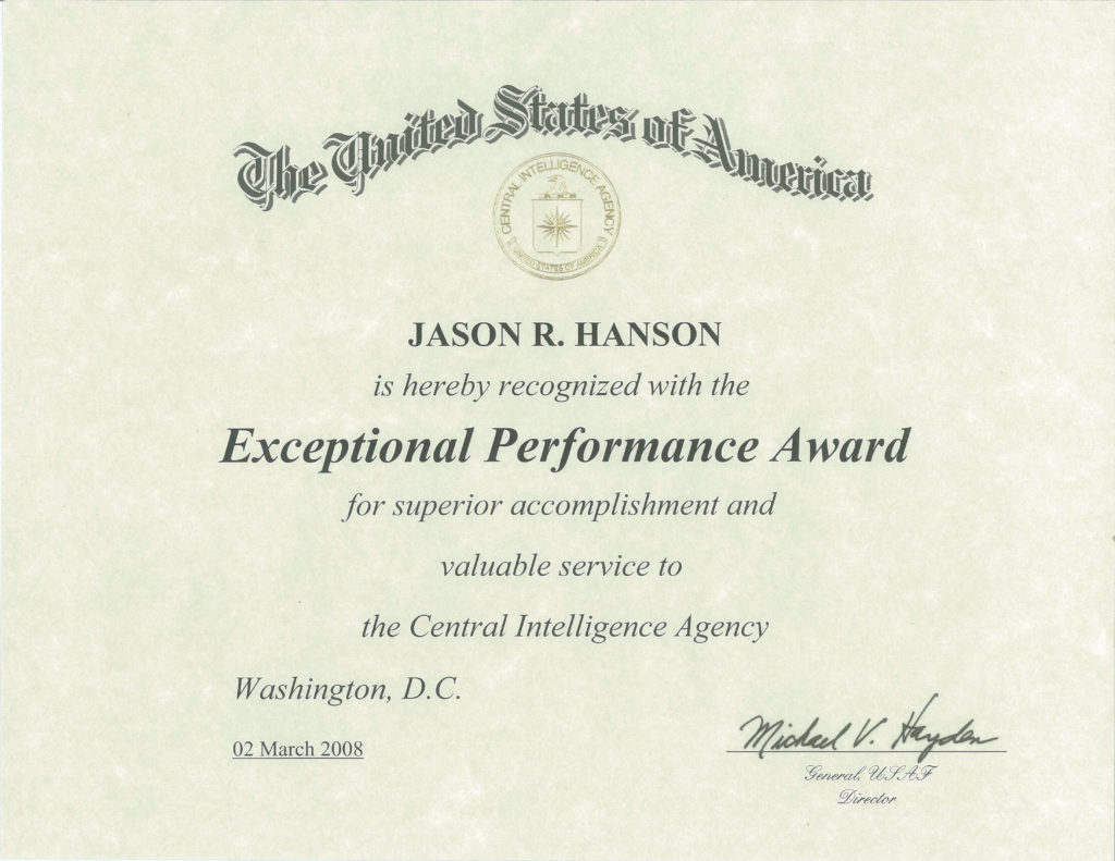 Biography Of Jason Hanson Spy Escape And Evasion