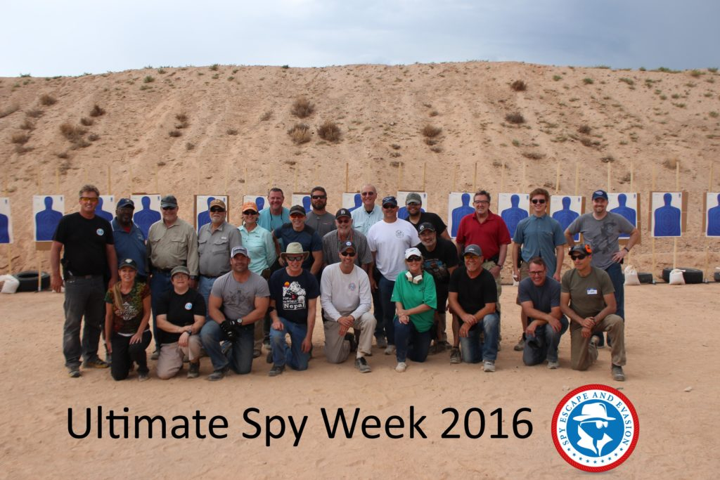 Ultimate Spy Week 2016 Class Photo