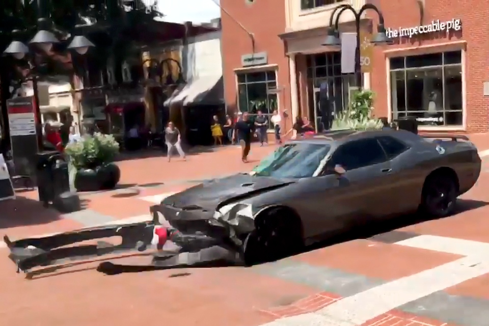 Vehicle used in 2017 Charlottesville, Va. riots