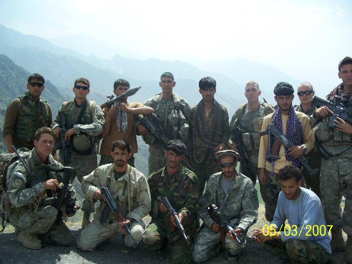3rd squad at Ranch House, Aranas