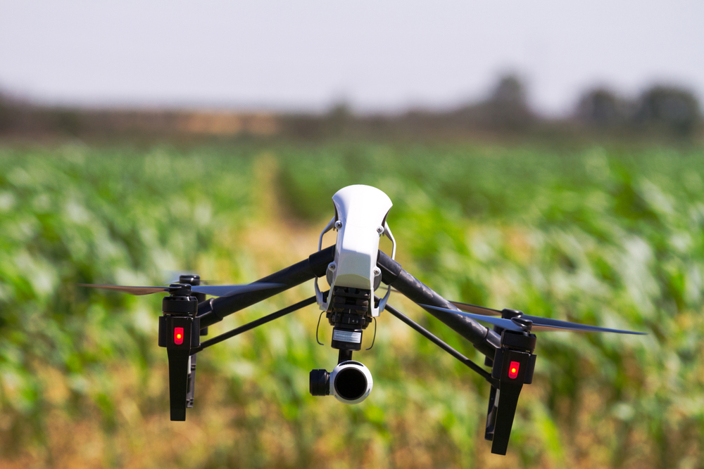Drones used as part of a security plan