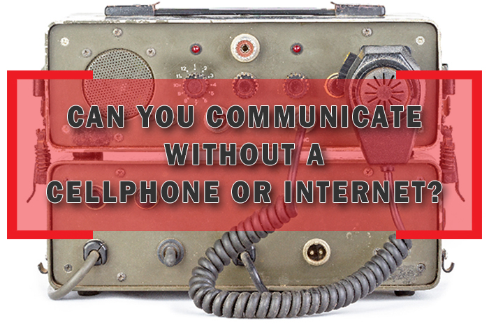 Ham Radio: Can You Communicate without cell or internet