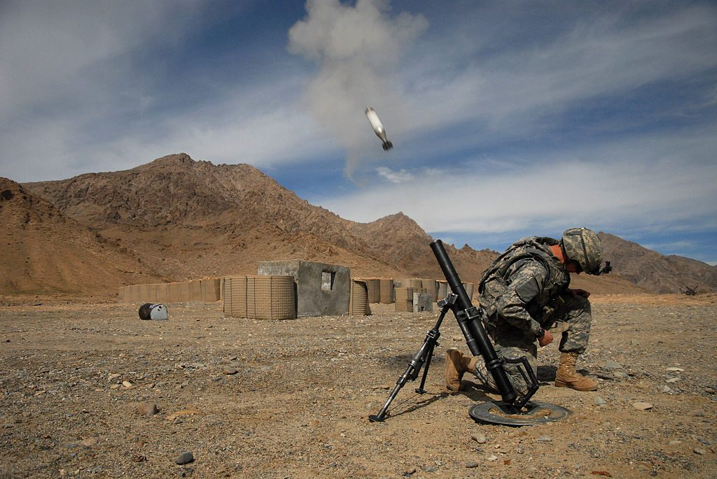 Mortar Fire can trigger fight or flight response