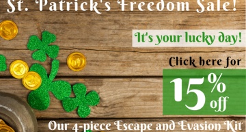 Celebrating St. Patrick's Day With A Freedom Sale