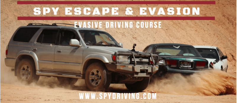 Spy Escape and Evasion Driving Course