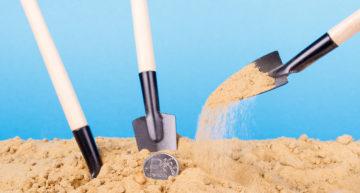 Should you bury a stash of money?
