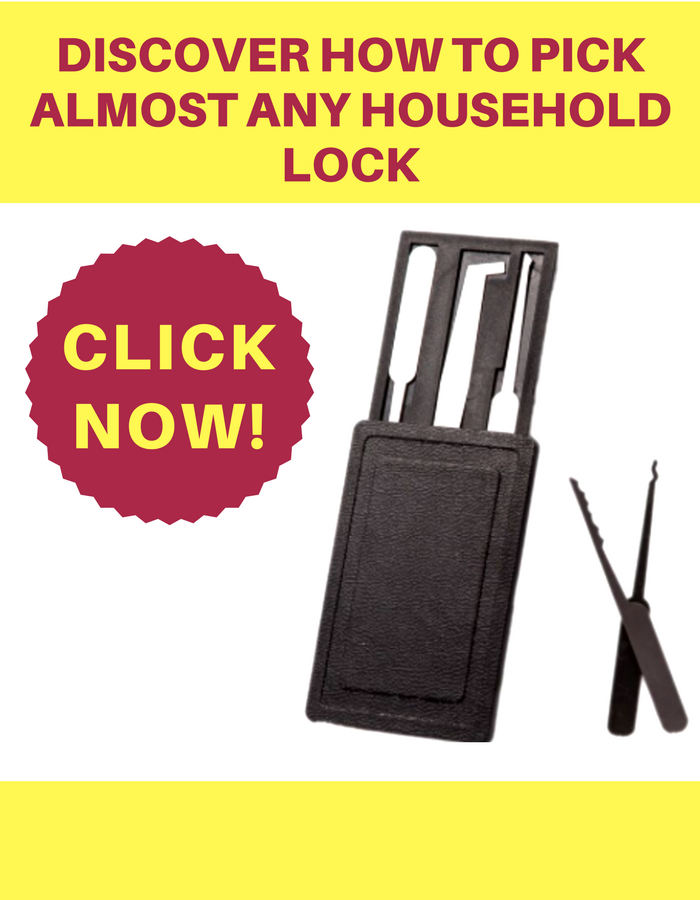 credit card lock pick set for edc wallet