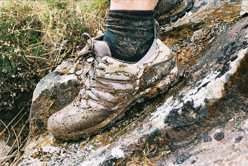 Wet shoes are a leading cause of trench foot